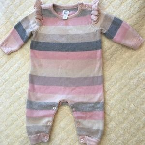 Baby Gap Sweater Onesie 3-6 month